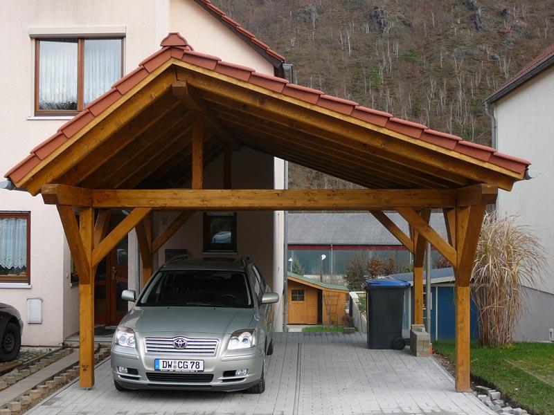 Zimmerei & Holzbau Kliemt--- Referenzen Carports